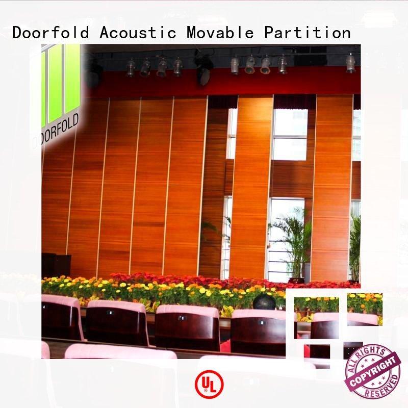 Doorfold operable sliding room partitions divider for hotel