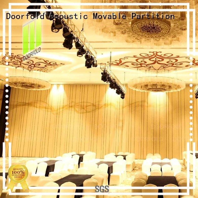 Custom acoustic divider acoustic movable partitions Doorfold movable partition flexible