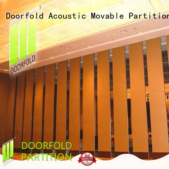 acoustic partition yun for meeting room Doorfold