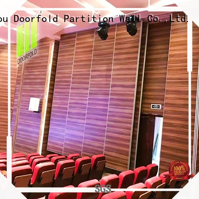 Doorfold soundproof acoustic movable walls buy now for theater