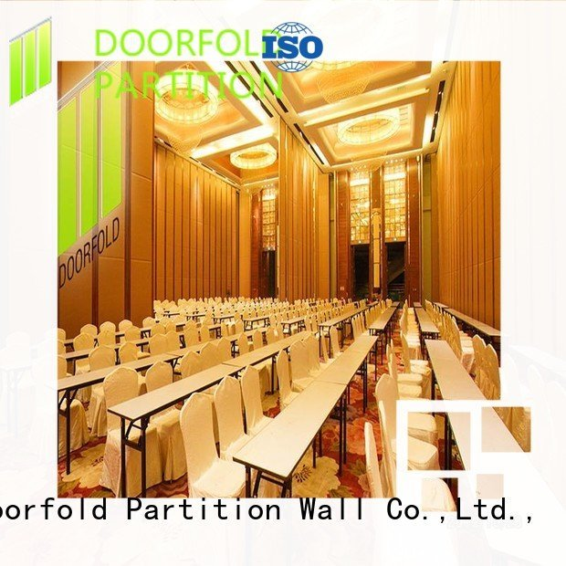 Hot folding partition walls commercial operable Doorfold movable partition Brand