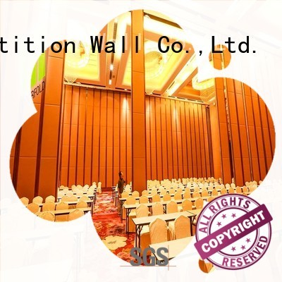 Doorfold easy installation hall partition customization for exhibition