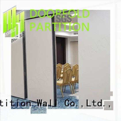 Doorfold movable partition Brand bay lan divider operable walls price