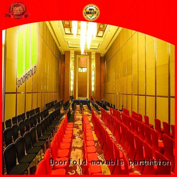 Doorfold movable partition acoustic partition lan operable bay partitions