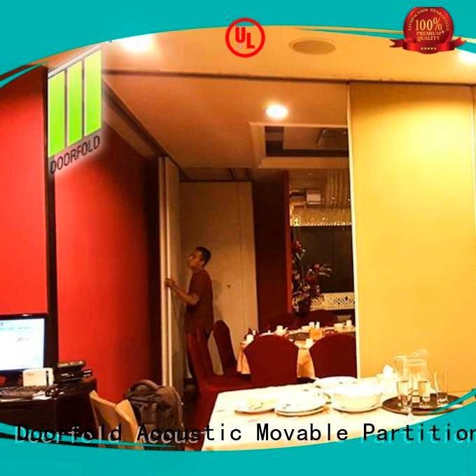 commercial partition walls divider restaurant commercial room dividers Doorfold movable partition Warranty