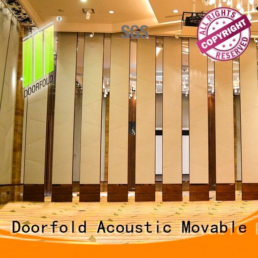 Doorfold movable partition Brand international commercial partition sliding folding partition