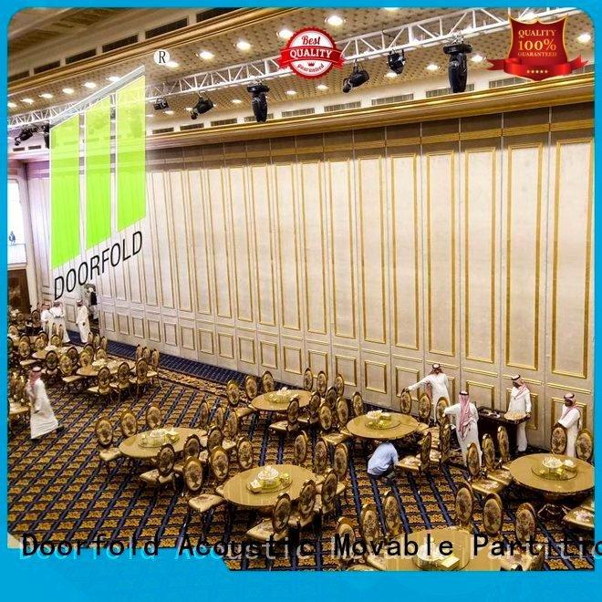 Doorfold movable partition acoustic partition divider partitions flexible haikou