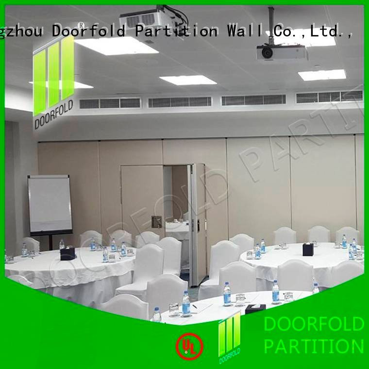 partition acoustic soundproof folding walls Doorfold movable partition