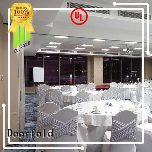 Doorfold sliding folding partition doors conference for office