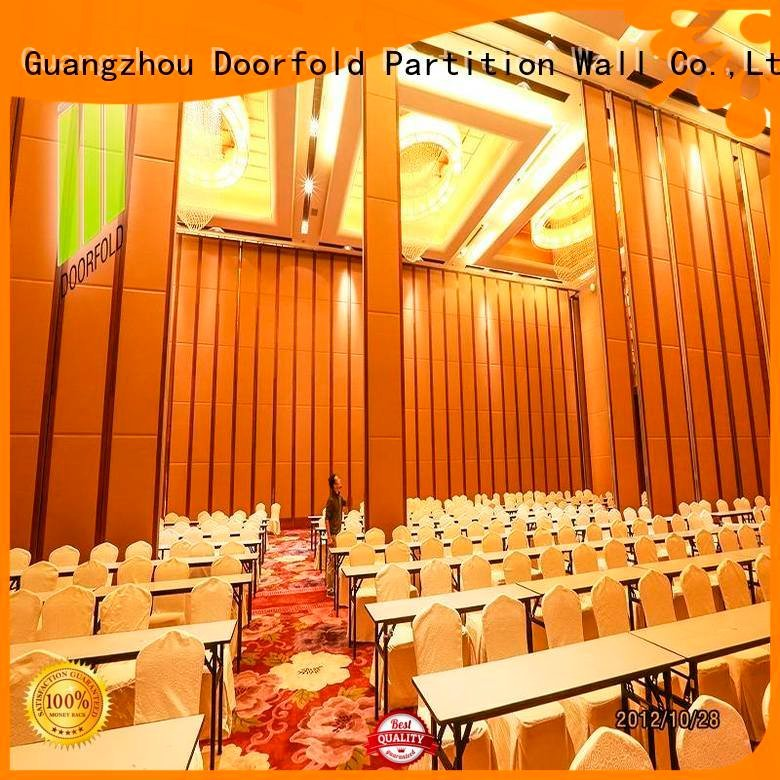 commercial partition walls exhibition folding room Doorfold movable partition