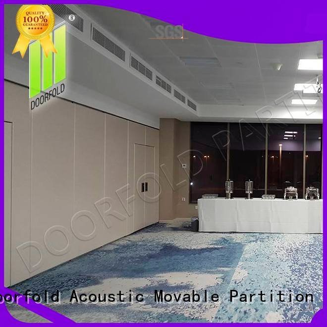 Doorfold movable partition operable sliding folding partition flexible movable