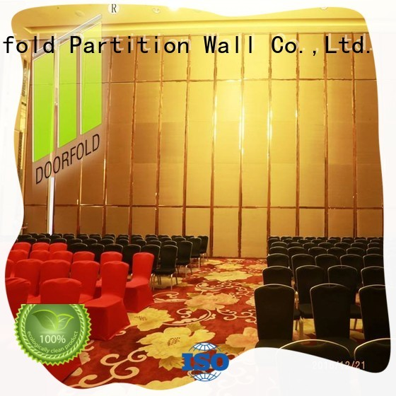 Doorfold movable hall acoustic movable partitions fast delivery for office