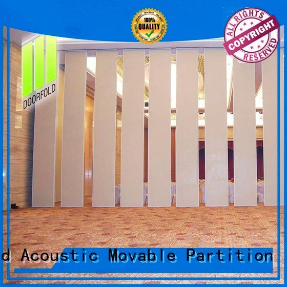 Hot sliding glass partition walls retractable hotel movable Doorfold movable partition Brand
