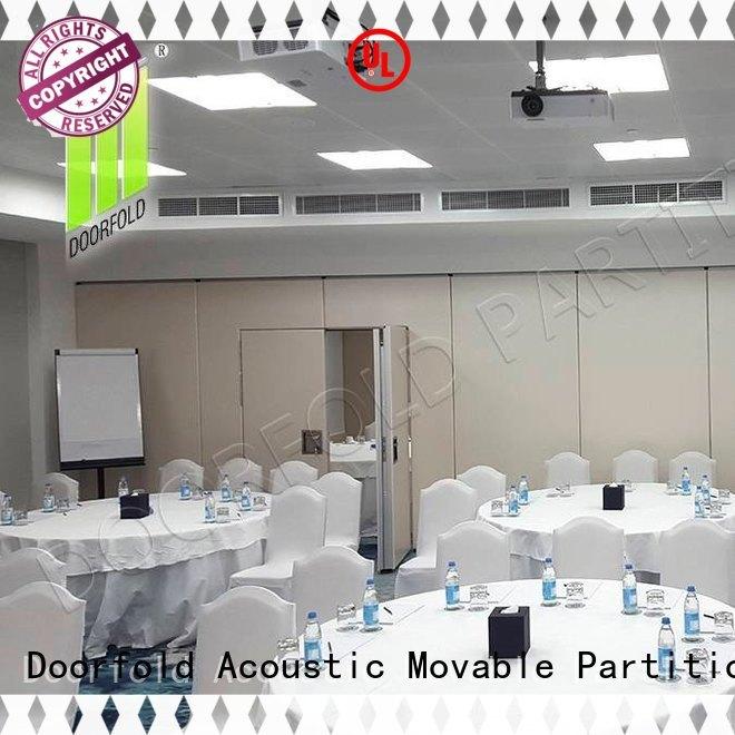 Doorfold soundproof custom room divider custom for conference room