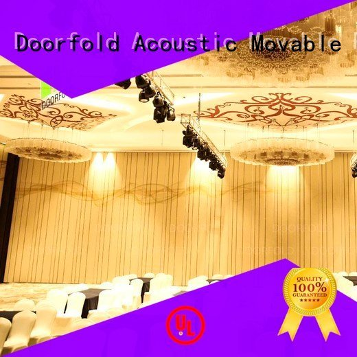 Hot acoustic partition wall folding yun Doorfold movable partition Brand