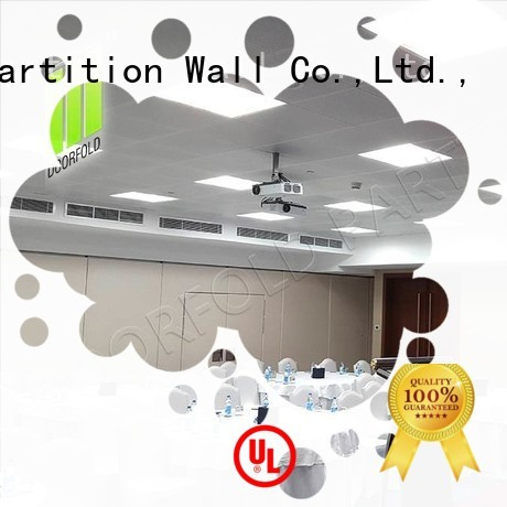 Doorfold movable partition Brand high quality panels custom commercial partition walls