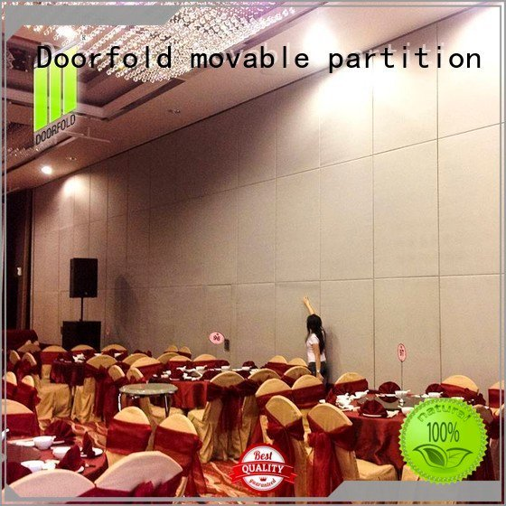 hotel movable partition sliding folding partition Doorfold movable partition