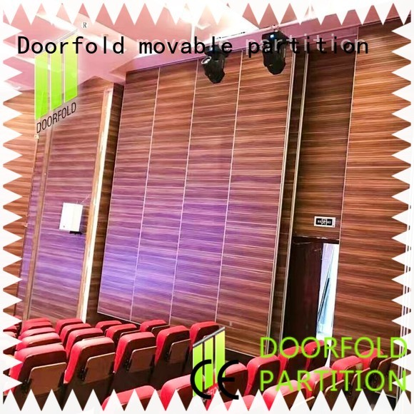 movable office walls fast installation for display Doorfold movable partition