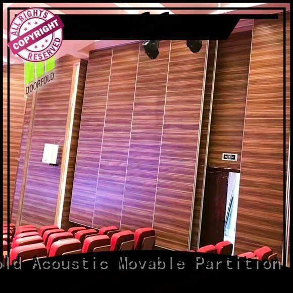 Custom movable walls folding room museum Doorfold movable partition