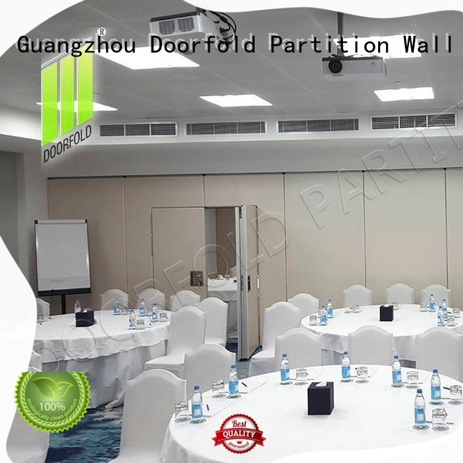 Doorfold soundproof soundproof partition wall for meeting room