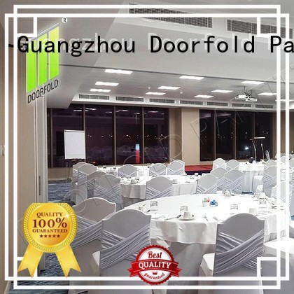 collapsible partition walls dubai retractable divider Doorfold movable partition Brand company