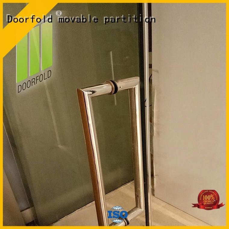Doorfold movable partition Brand commercial panels movable glass partition walls for office