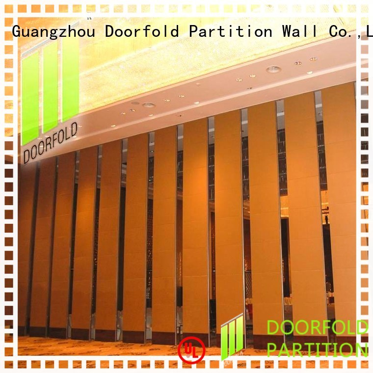 Custom marriott acoustic movable partitions operable Doorfold movable partition
