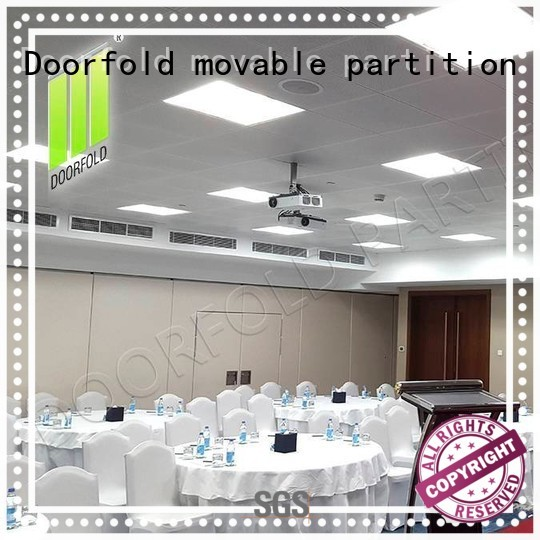 movable partition retractable folding partition walls commercial Doorfold movable partition Brand