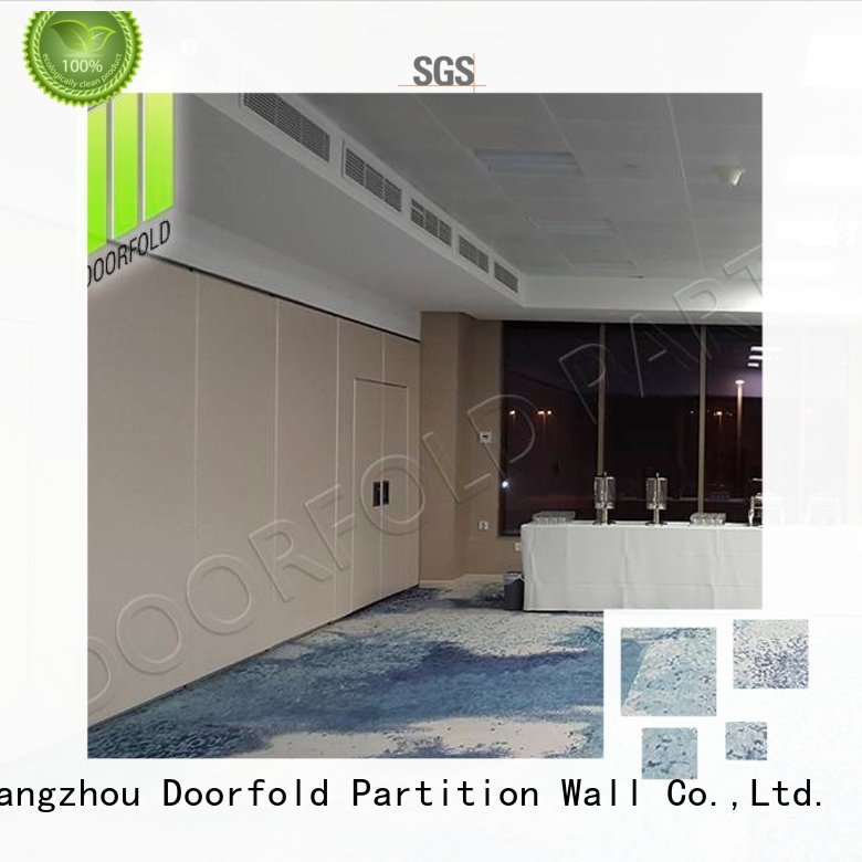Doorfold international Sliding Partition Wall for Hotel easy installation for restaurant