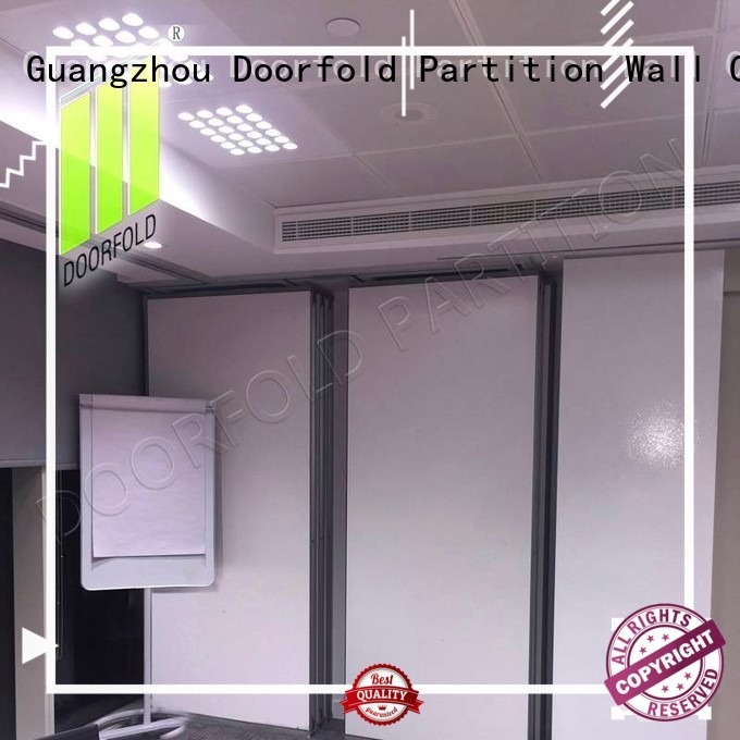 Doorfold modern design sliding partition partition for conference