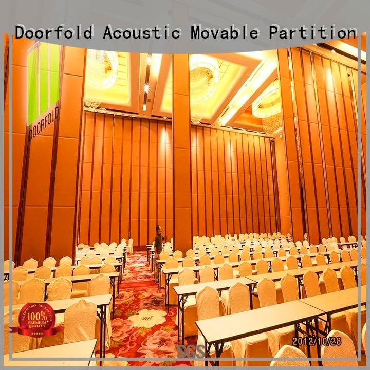acoustic partition wall Doorfold movable partition commercial partition walls