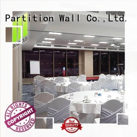 Doorfold divider sliding folding partitions movable walls partition for hotel