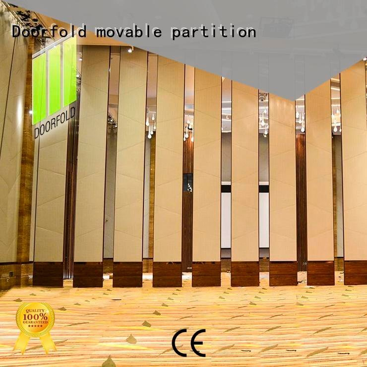 flexible acoustic sliding glass partition walls Doorfold movable partition