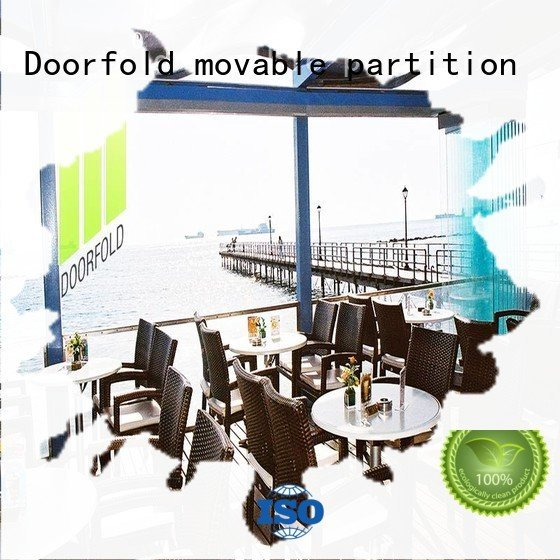 glass partition walls for office movable Doorfold movable partition Brand