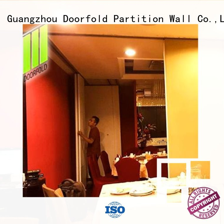wall divider commercial room dividers folding Doorfold movable partition Brand