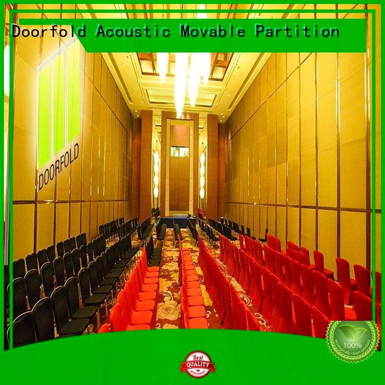 Doorfold movable partition bay flexible yun acoustic partition partitions
