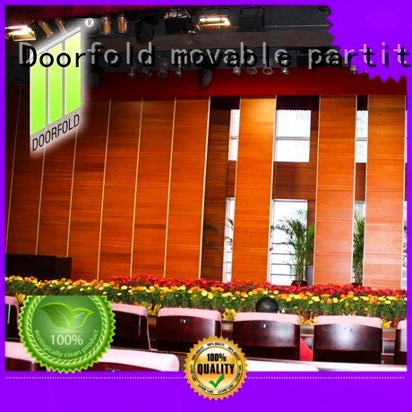 collapsible retractable meeting Doorfold movable partition sliding folding partition