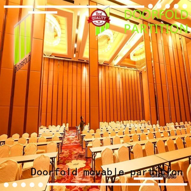 Quality Doorfold movable partition Brand glass movie folding partition walls commercial