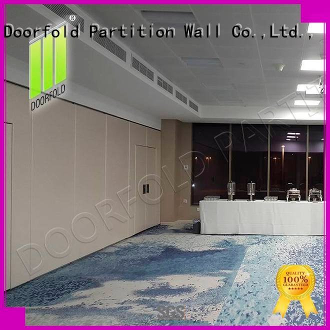 international retractable Doorfold movable partition sliding glass partition walls