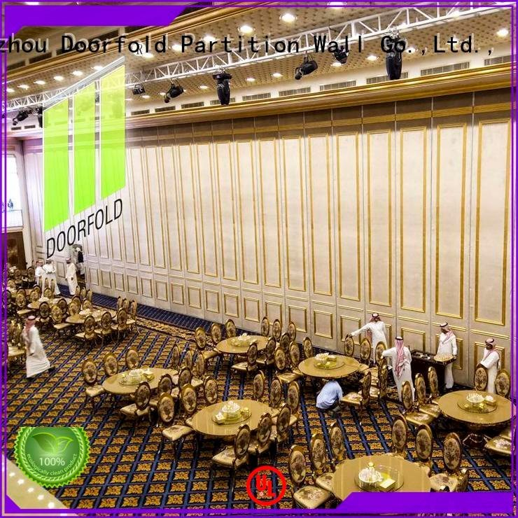Doorfold movable partition acoustic partition acoustic wall flexible hotel