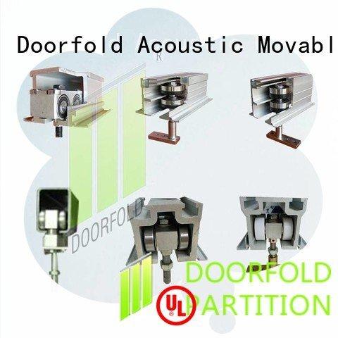 accessories partition partition restroom partition hardware Doorfold movable partition