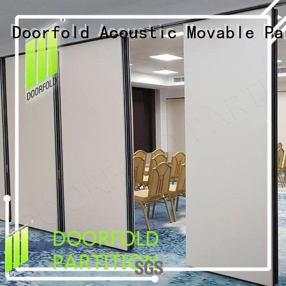 Doorfold operable wall meeting for conference