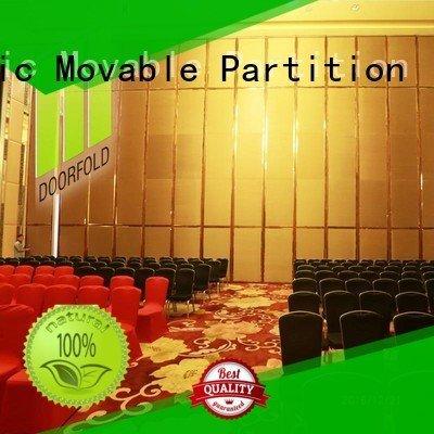 operable acoustic Doorfold movable partition acoustic partition
