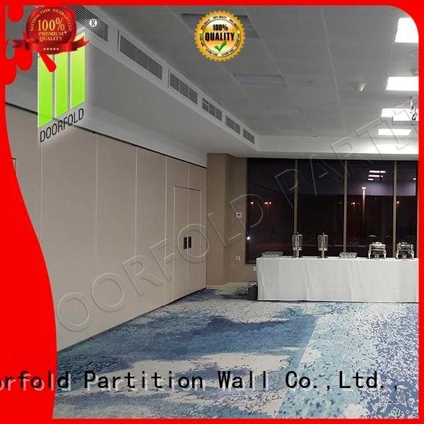 Doorfold movable partition sliding folding partition movable plaza divider operable