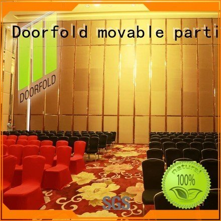 Doorfold movable partition bay retractable acoustic movable partitions mecca partition