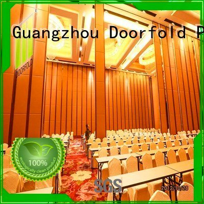 Doorfold movable partition walls folding partition walls commercial collapsible wall