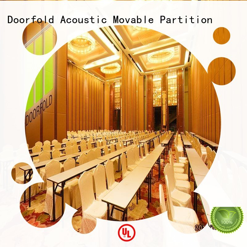 Doorfold hot sale hall partition oem&odm for college
