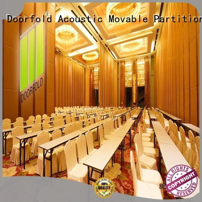 Doorfold movable partition commercial partition walls movable room exhibition acoustic