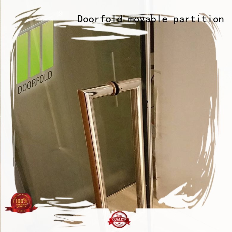 Wholesale professional sound glass partition wall Doorfold movable partition Brand