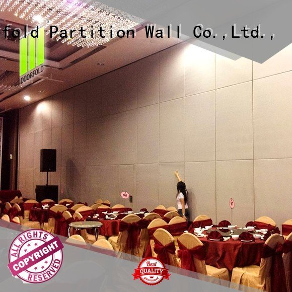Doorfold movable partition Brand crowne partition sliding sliding glass partition walls